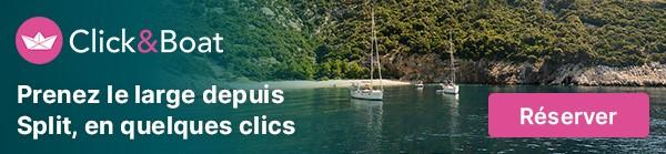 Location de bateau a Split en Croatie