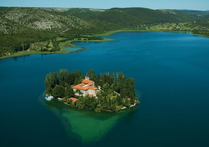 parc national krka en croatie guide carte hotel