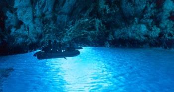 La grotte bleue à Biševo
