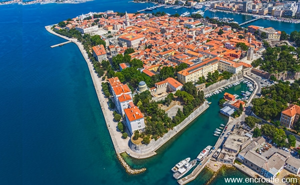 Zadar En Croatie Location H 244 Tel Guide Voyage M 233 T 233 O Photo Et Carte