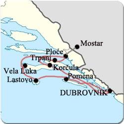 Croatie - Croisiere de Dubrovnik