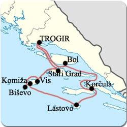 Croatie - Croisiere de Trogir