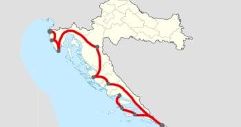 Itinéraire 14 j. Istrie-Dubrovnik