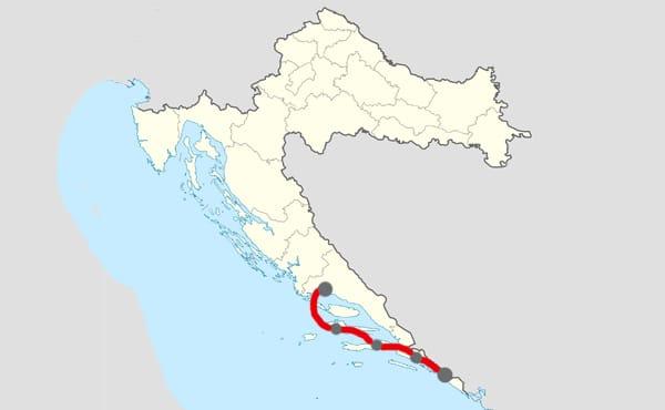 Itinéraire 7 jours Split - Dubrovnik
