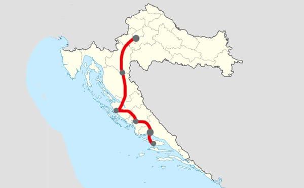 Itinéraire 7 jours Zagreb - Split