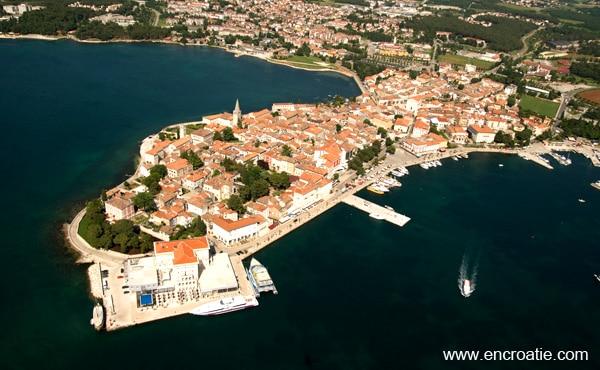 Poreč en Croatie – Location, hôtel, guide voyage, météo, photo et
