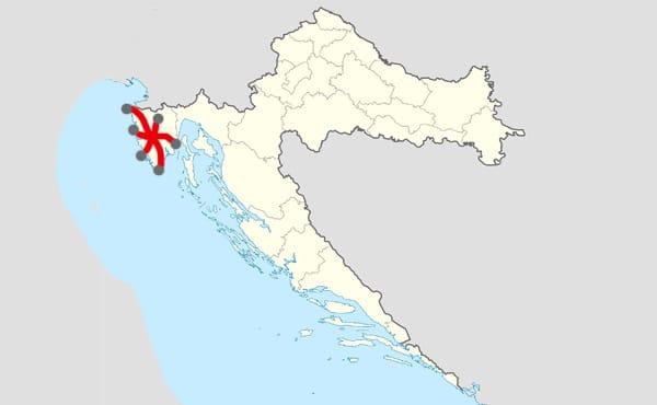 Sejour en Istrie