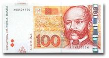 Billet de 100 kuna