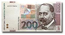 Billet de 200 kuna