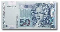Billet de 50 kuna