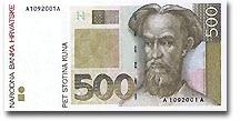 Billet de 500 kuna