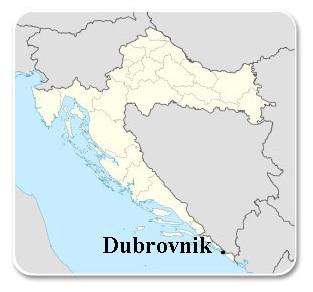 Dubrovnik - Carte