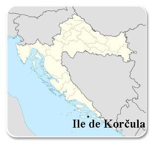 Carte de Korčula