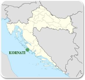 Kornati - Carte