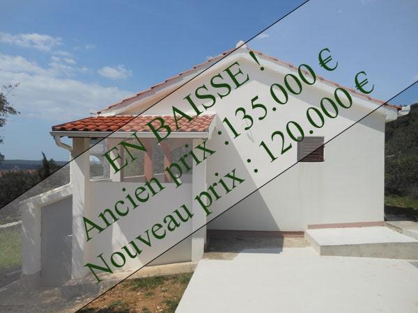 Acheter une maison en croatie posedarje en dalmatie for Acheter une nouvelle maison
