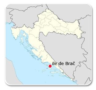 croatie-ile-de-brac-carte