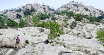 Journée escalade à Omiš