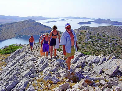 Croisiere trek et randonnee Croatie