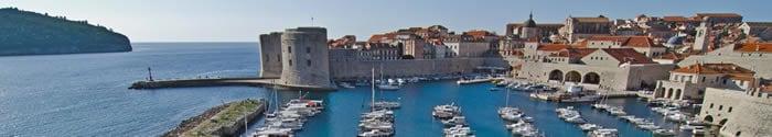 Croisieres port Dubrovnik Croatie