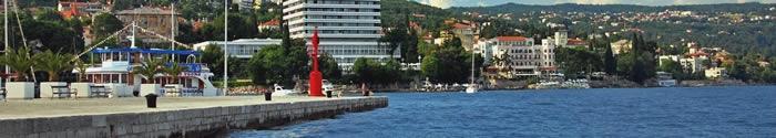 Croisieres port Opatija Croatie