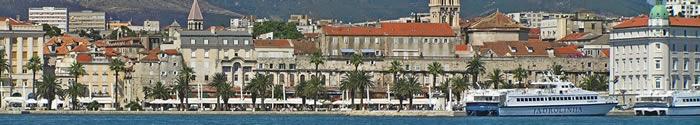 Croisieres port Split Croatie
